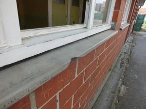 Appui de fenêtre en amiante ciment