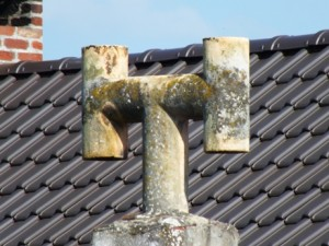 Quelques exemples de cheminées contenant de l'amiante