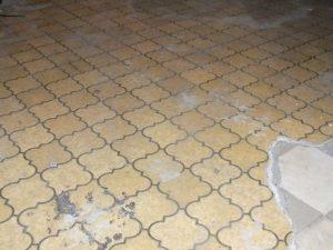 Revêtements de sol contenant de l'amiante