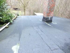 Roofing contenant de l'amiante