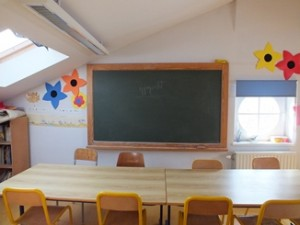 Tableau de classe en amiante ciment